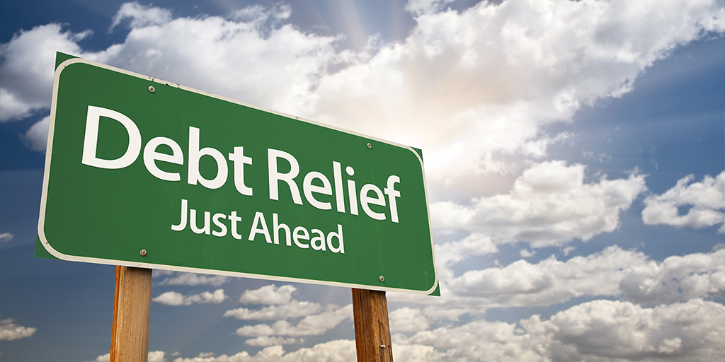 4_debt-relief-just-ahead-sign-sky